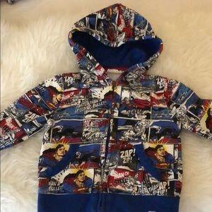 Gap DC Comics hoodie sweatshirt size 3t